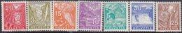 """1934-(MLH=*) Svizzera S.7v.con TL (light Hinge) """"vedute""""catalogo Unificato Euro 45 - Nuovi"""