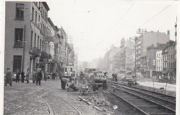 NMVB-MIVB - Travaux Aux Voies Du Tramway Bruxellois (Nord?) - Photo 8,5 X 5,5 Cm - Brüssel (Stadt)
