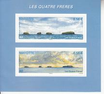 2009 Mayotte Les Quatres Freres  Souvenir Sheet MNH - Mayote (1892-2011)