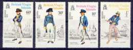"1972-(MNH=**) British Virgin Islands S.4v.""Seaman INTERPEX, 14th Intl. Stamp Exhibitioon"" - British Virgin Islands"
