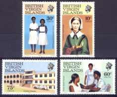"1983-(MNH=**) British Virgin Islands S.4v.""Nursing Week"" - British Virgin Islands"