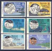 "1985-(MNH=**) British Virgin Islands S.6v.""New Coinage"" - British Virgin Islands"