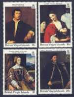 "1988-(MNH=**) British Virgin Islands 4v.""Paintings By Titian"" - Iles Vièrges Britanniques"
