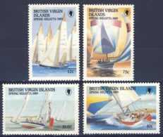 """1989-(MNH=**) British Virgin Islands S.4v.""""Spring Regatta"""" - British Virgin Islands"""