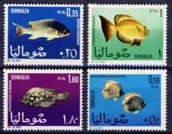 """1967-(MNH=**) Somalia S.4v.""""Pesci"""" - Somalia (1960-...)"""
