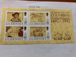 Guernsey Europa 1992 S/s Mnh - Guernsey