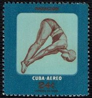 CUBA 1957 - THE YOUTH RECREATION - DIVING - MINT - Tuffi