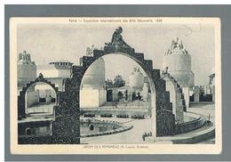 JM05.02 / CPA / PARIS - EXPO ARTS DECORATIFS 1925 / JARDIN DES NYMPHEAS - Tentoonstellingen