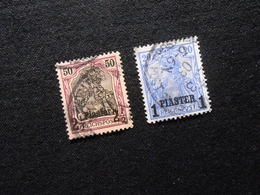 D.R. Mi 18 L/14 Ll - Deutsche Auslandpostämter (Türkei) - 1900 - Mi 26,00 € - Bureau: Turquie