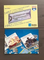Coppia Di Cartoline In Bianco Genova '92 Celebrazioni Colombiane - Manifestazioni