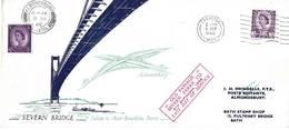 GB 1966 (8 Sep) Illustrated Cover Marking Opening Of Severn Road Bridge Used - 1952-.... (Elizabeth II)