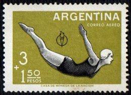 ARGENTINA 1959 - 3rd PAN AMERICAN GAMES - DIVING - MINT - Tuffi