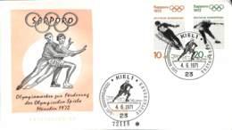 [903382]TB//-Allemagne 1972 - 'KIEL 1', Jeux Olympiques, Sports, Patinage Artistique, Hockey (Sur Glace) - Hiver 1972: Sapporo
