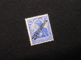 D.R. Mi 50*MLH - Deutsche Auslandpostämter (Türkei) - 1908 - Mi 8,00 € - Bureau: Turquie