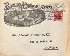 Antwerpen, Biscuits Parein - [OC1/25] Gouv. Gén.