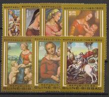 Guinée-Bissau - 1983 - N°Mi. 682 à 688 - Raphael - Neuf Luxe ** / MNH / Postfrisch - Guinée-Bissau