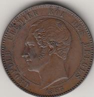 10 Centesimi Belgio Leopoldo I° Data Piccola BB/Spl - 1831-1865: Leopold I