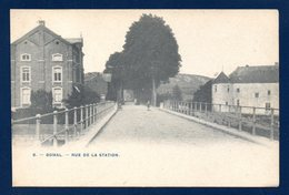 Bomal ( Durbuy ). Rue De La Station. 1909 - Durbuy
