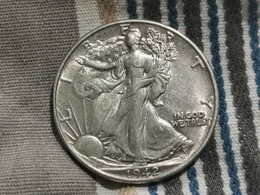 États-Unis, Half-Dollar 1942 Liberty Walking. TTB++++++ - 1916-1947: Liberty Walking