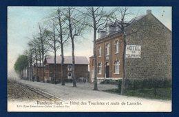 Rendeux-Haut. Hôtel Des Touristes, Route De La Roche. Voie Ferrée. 1910 - Rendeux