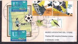Argentina - 2020 - Lettre - Thème Du Football - Championnat Du Monde Junior Sub20 - Storia Postale