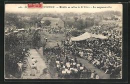 CPA Saint-Rémy-de-Provence, Mireille Au Vallon De St Clerc, Les Magnunarelles - France