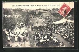 CPA St-Rémy-de-Provence, Mireille Au Vallon De St Clerc, La Farandole - Non Classificati