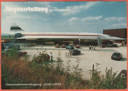 Cartoline - Tematica - Aerei - Concorde - Flugausstellung Bei Hermeskeil - Not Used - 1946-....: Era Moderna