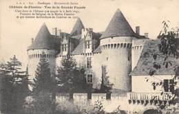 24 - Environs De SARLAT - Château De Fénelon - Vue De La Grande Façade - Sarlat La Caneda