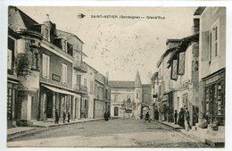 Saint Astier Grand Rue (curieux Cachet Militaire) - France