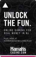 Harrah's Resort Atlantic City NJ - Room Key With C-4146089 - Hotel Keycards