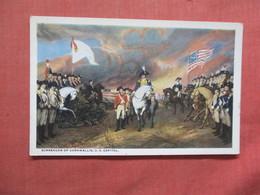 Surrender Of Cornwallis  US Capitol   Ref  3875 - History