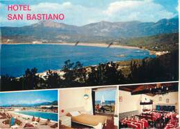 """CPSM FRANCE 20 """"Corse, Calcatoggio, Transat Hôtel San Bastiano"""" - France"""