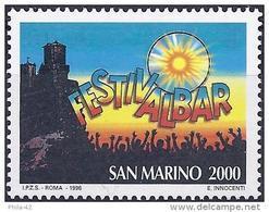 San Marino 1996 - Mi 1662 - YT 1456 ( Song Festival ) MNH** - Neufs