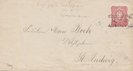Frankreich: 1876: Mülhausen /Elsass-Lothringen - Unclassified