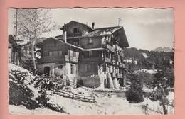 OLD POSTCARD - SWITZERLAND -  SCHWEIZ - SUISSE -        PENSION GENTIANA - CHESIERES - VD Vaud