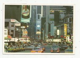 JC , Cp ,ETATS UNIS , NEW YORK CITY , Glittering Times Square After Dark ,écrite ,automobiles ,publicité - Time Square