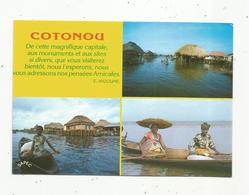 JC , Cp , BENIN , GANVIE , COTONOU , écrite ,multi Vues - Benin