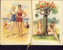 """1942-""""Eva Nel Paradiso Terrestre""""calendario 6,5x9 Cm. In Ottime Condizioni - Calendari"""