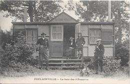 POULAINVILLE - Le Bois Des 3 Ponettes (cliché Avec Chasseur Et Garde-chasse) - Sonstige Gemeinden