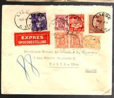 28007 - En EXPRES Pour La France - 1936-1951 Poortman