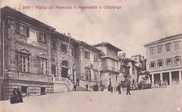 BRA       PIAZZA DEL MUNICIPIO E MONUMENTO A COTTOLENGO - Otras Ciudades
