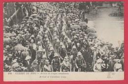 France - Guerre De 1914 - Arrivée De Troupes Canadiennes / Arrival Of Canadians Troops ( Voir Verso ) - Oorlog 1914-18