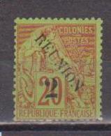 REUNION    N°  YVERT  :   31 A  NEUF AVEC  CHARNIERES      (  CH  02/49 ) - Réunion (1852-1975)