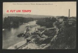 34 SAINT JEAN DE FOS - Station Electrique Et Scierie Sur L'Hérault - France