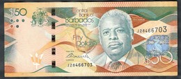 Barbados - 50 Dollars 2013 - P.77 - Barbados (Barbuda)
