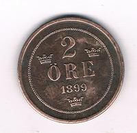 2 ORE  1899  ZWEDEN / 905/ - Schweden
