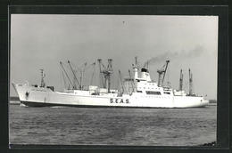 Foto-AK Handelsschiff Fort Portchartrain In Fahrt - Commerce