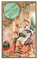 6 Chromo Dorée Chocolat Poulain - - Poulain
