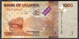 Uganda - 1000 Shillings / Shilingi 2017 - P.49e - Ouganda
